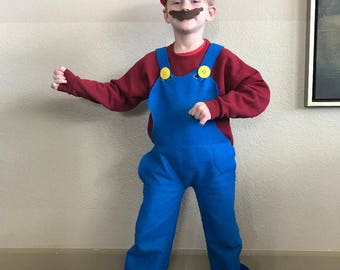 Super Mario complete Costume / Dress Up