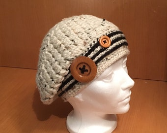 Women's crochet Slouchy Hat