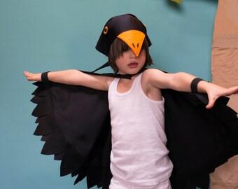 bird headscarf ... bird bandana costume