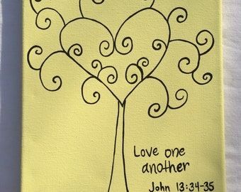 Love one another painting