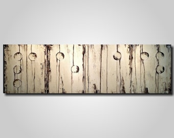 Abstract Painting, braille artwork, wall decor, Large wall art, industrial paintings, brown , jmjartstudio, gift for him,Spring decor