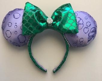 Ariel Mermaid Mouse Ears