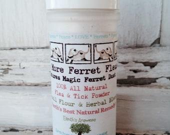 No More Ferret Fleas Natural Flea Control Treatment for Ferrets & Rabbits.