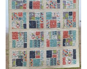 Tatami Mat Quilt Pattern - Paper Pattern