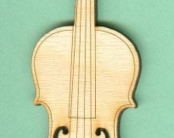 Violin (MU-027) - Laser Cut