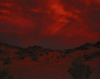 Dawn in the California Desert