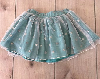 SAMPLE SALE - Laney Skirt in Teal - Size 3