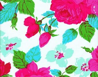 Free Spirit Fabrics Jennifer Paganelli Happy Land Eloise in Sky LAMINATED FABRIC - Half Yard