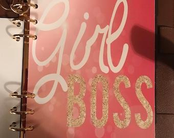 Beautiful Girl Boss Dashboard that fits Louis Vuitton GM PLANNER