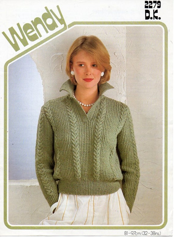 Ladies Knitting Pattern Pdf Download Ladies Sweater Knitting