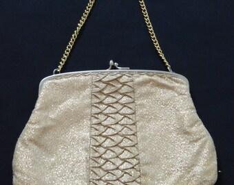 Vintage Gold Evening Bag