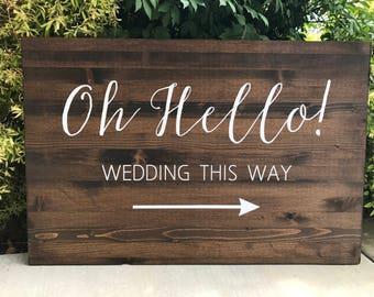 Wedding directional | Etsy