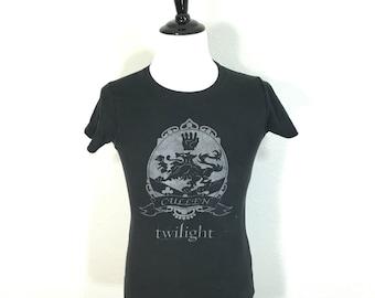 80's euro vintage distressed twilight 100% cotton t-shirt