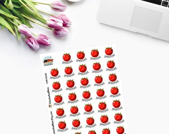Itty Bitty PRESCHOOL planner stickers CAM00132