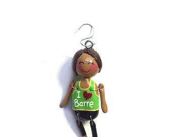 I Love Barre Collection:  Teegan (Ornament)  - CAN BE PERSONALIZED w/ Add-On Option