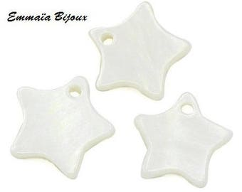 10 charms star shell 12 mm