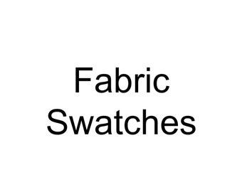 Upholstery Fabric Swatches