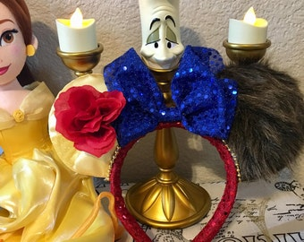 Inspired Beauty and the Beast Minnie Ears