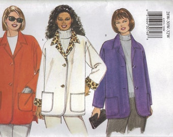 Butterick Sewing Pattern 6353 - Women's Jacket (16w-20w, 22w-26w, 28w-32w)