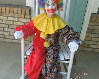 Clown Costume for Toddler or Child