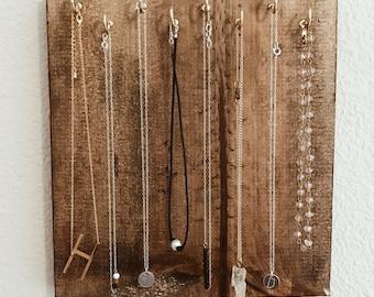 Jewelry Organizer, Necklace Hanger, Jewelry Board