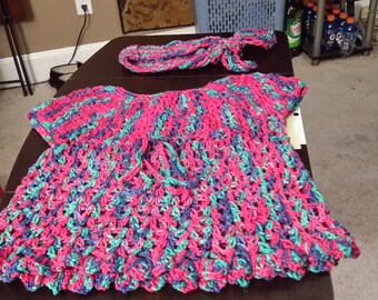 Toddler dress and headband
