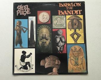 Steel Pulse Babylon the Bandit Vinyl LP First Pressing Roots Reggae Punk