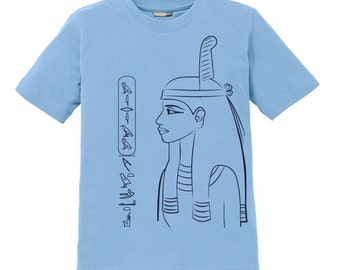 Maat Kids Shirt - personalized with your name in hieroglyphs