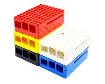 Brick Stack Case for Raspberry Pi 3B+, 3 & Pi 2 Generation B
