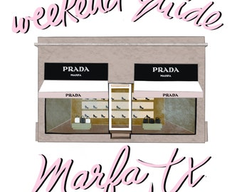 Welcome to Marfa series of 3