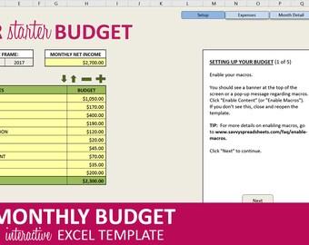 Budget Planner | Etsy