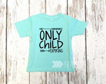 Custom Colors / Only Child Expiring / Big Brother Shirt / I'm going to be a Big Brother T-Shirt