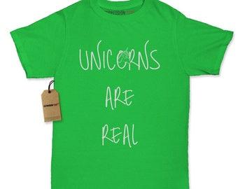 Unicorns Are Real Womens T-shirt