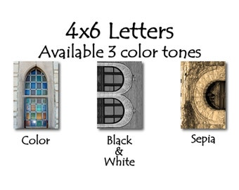 4x6 Letters