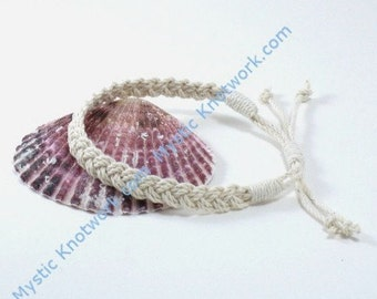Sailor Anklet Braided American Made Cotton