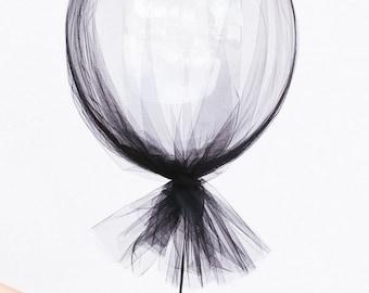 Tulle Midi Balloon