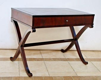 Baker Furniture Barbara Barry Collection Mahogany Entry Table With Drawer  Nationwide Shipping Available Please Call For