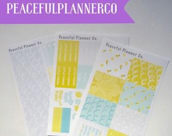 When Life Gives You Lemons - Erin Condren Life Planner - VERTICAL Kit