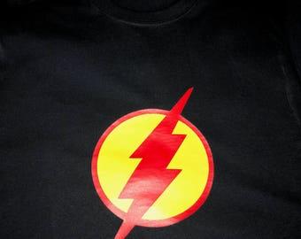 Flash superhero shirt