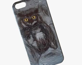Owl phone case // Illustrated Animal // iPhone X / 8 / 8 Plus / 7 / 7 Plus / 6 / 6S / SE / 5 / 5S // Samsung G. S9/S7/S6/S6 Edge/S5