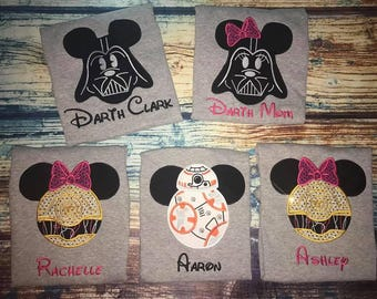 Personalized Minnie Mouse Shirt - Black and Hot Pink-mouse shirt, boy mouse  shirt