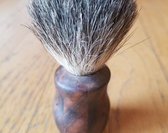 Hand made shaving brush