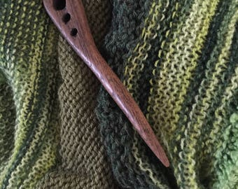 Hand Carved Shawl Pin