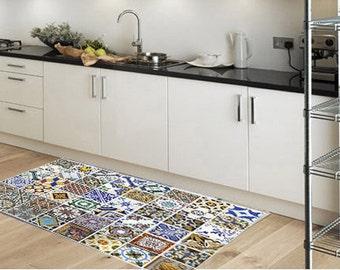 Kitchen rug | Etsy