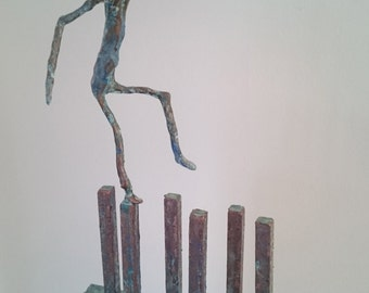"Sculpture ""Balancing act"""
