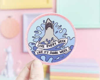 Live every week like it's shark week 30 Rock patch