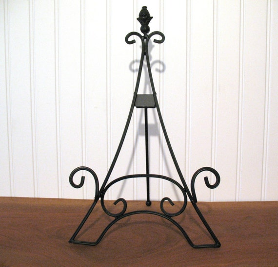 15 Easel Eiffel Tower Large Black Tabletop Wedding Display Picture