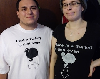 I put a turkey in that oven and I have a turkey in the oven shirt