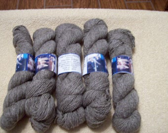 Alpaca Yarn – Grey Girls and Boys (2 ply sport weight)