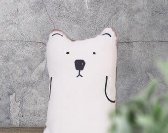 Printable Pizzly Bear Plush Sewing Pattern & Tutorial - Bear Plush Pattern - Soft Toy Easy Sewing Pattern - PDF Sewing ePattern